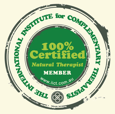 100% Certified Natural Therapist MEMBER
